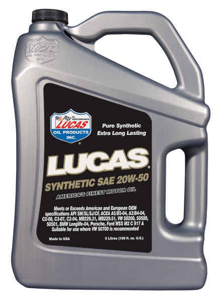 Lucas 20/50 synthetic oil 5l