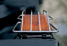 Stainless steel indicator protection grilles