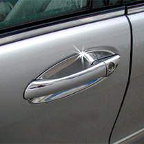 Chrome door handle shells (3-door)