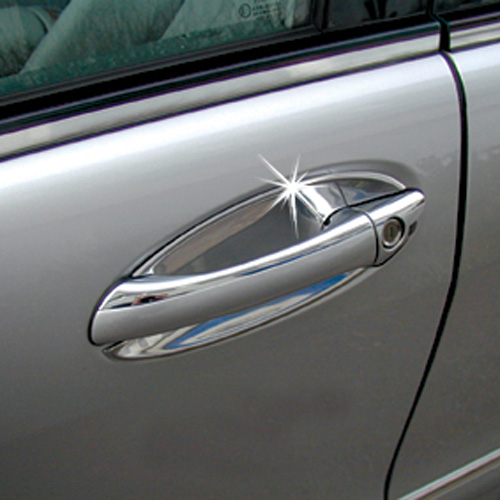Chrome door handle shells