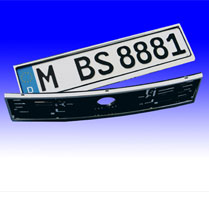 Chrome number plate holders  sc 1 st  Special Vehicle Services Ltd & Special Vehicle Services Ltd