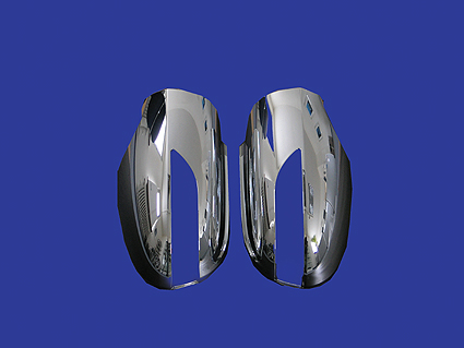 chrome mirror covers (pair)