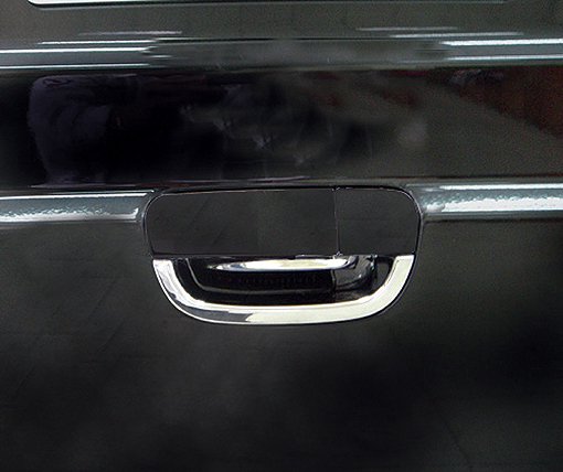 Chrome door handle shells and boot lid shell