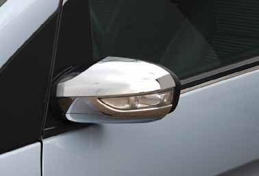 Chrome outside mirror covers