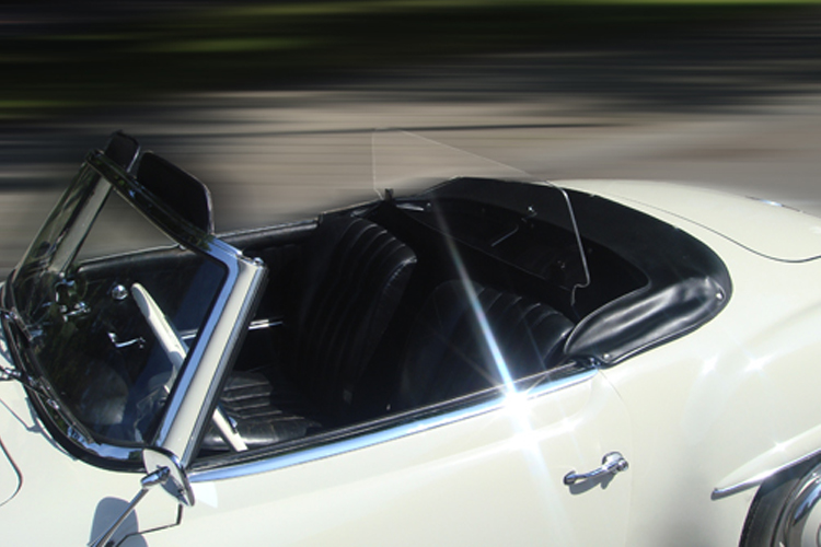 Wind Deflector 'Windstop' 190Sl